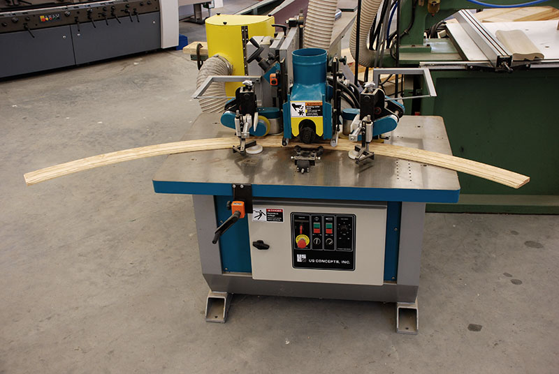 8-Inch 3-Axis Arch Moulder