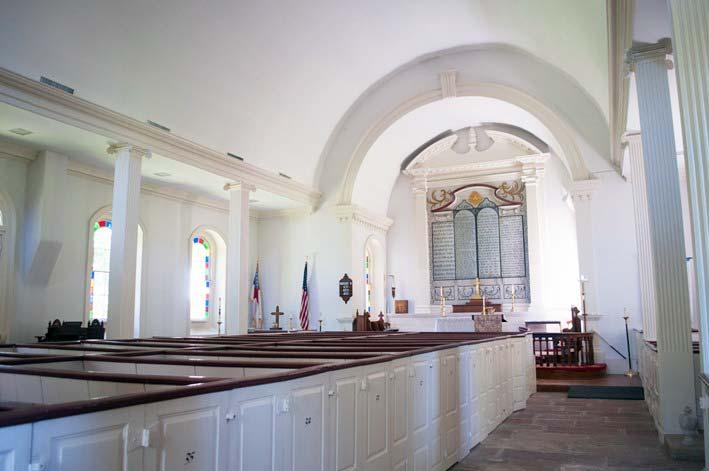 St. Andrew's Church interior