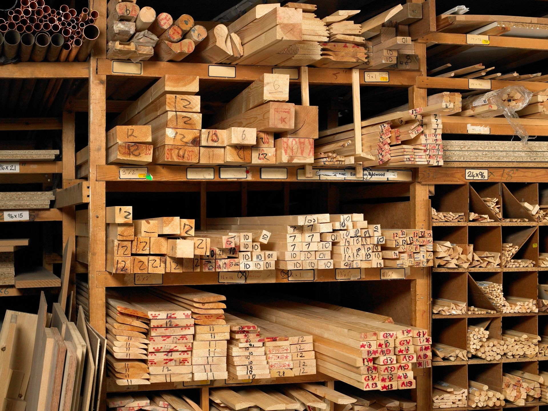 We stock or can obtain nearly any species of wood for your project.