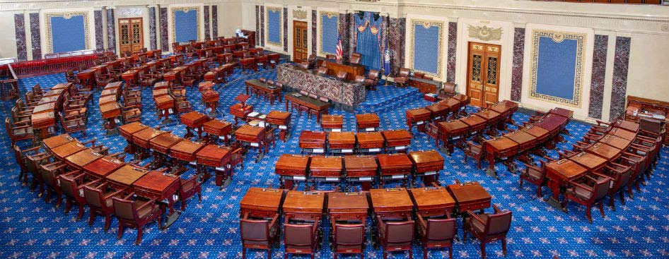 U.S. Capitol Building Senate Chamber